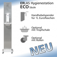 ECO Säule Eurospender Standard Gravur