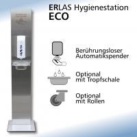 ECO Säule Automatikspender Standard Gravur