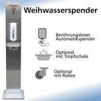 Weihwasserstation mit Automatikspender